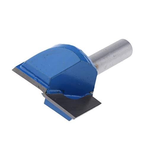 SM SunniMix Zweischneidige Nutfräser Oberfräser Nuter CNC Gravur Holzarbeitung Werkzeug, 8mm Schaft, aus Wolframstahllegierung - 8x30mm