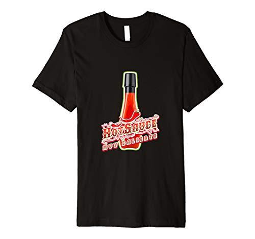 Hot Sauce Gewürz Easy Halloween-Kostüm Teil Tshirt