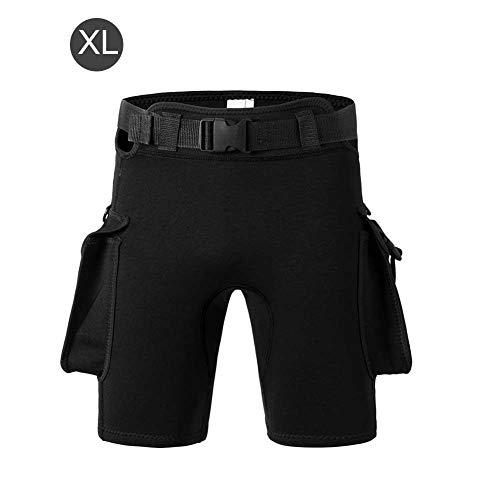 Taucher-Shorts Sonnenschutzgürtel Gewicht Taucher-Shorts Tasche Verstellbare enge Neoprenhose