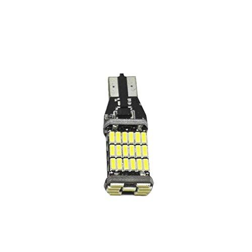 990 Lumens lumineux 1156 1157 T15 T20 LED Ampoules voiture Signal de secours Tourner Feux arrière récul