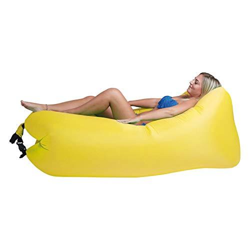Lounger To Go Air 2.0 Liegesack Sitzsack Luft Sofa Lounge Luftcouch Sessel aufblasbar gelb
