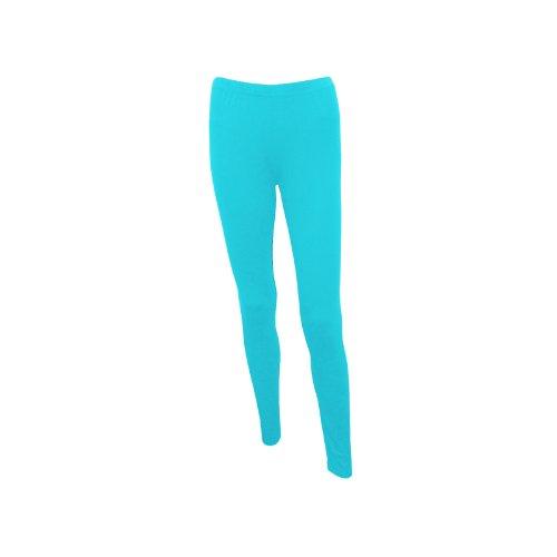 Plain Stretchy Viscose Lycra Leggings Sizes UK 8 - 26 Made in UK Test