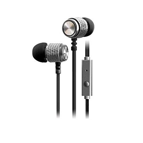 Sport Kopfhörer, HARRYSTORE 1PC Super Bass Stereo 3.5mm In-Ear Kopfhörer Mode Sport Headset mit Mic für Smartphone (Schwarz) Schnurloses Headset Mic
