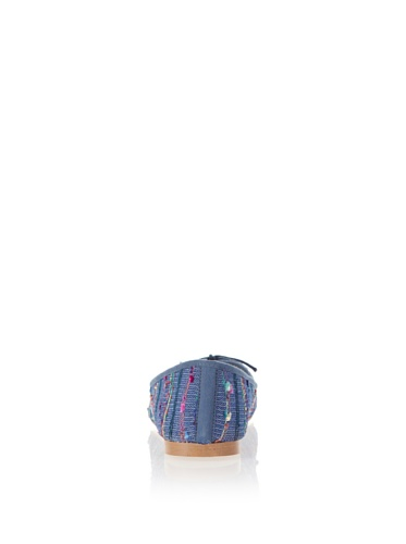 Jonny's Vegan Damen Schuhe Ballerina Pervian Stone AK1414 blau (blue) (36) - 2