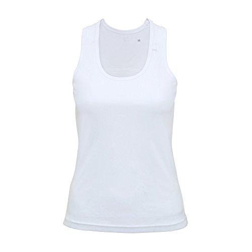 Tri Dri - Débardeur de fitness - Femme Blanc