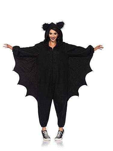 Leg Avenue 85552 Bat Kigurumi Funsie, Damen Karneval Kostüm Fasching, einheitsgröße, (Kostüm Kigurumi Amazon)
