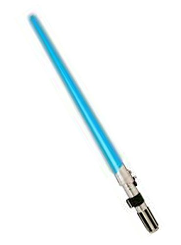 Spada laser Anakin Skywalker star wars prodotto ufficiale spada con luce di guerre stellari darth vader stormtrooper kylo ren travestimento carnevale spada laser luminosa cosplay halloween costume star wars