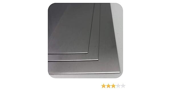 1mm x 200mm x 200mm EDELSTAHLBLECH V2A 1,4301 EDELSTAHL BLECH VON STAHLOG