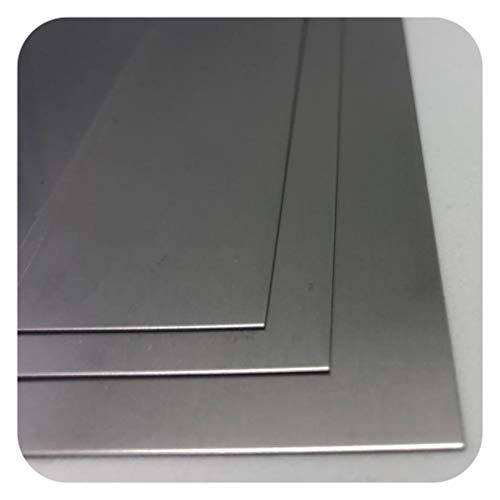 Edelstahlblech 0,5mm Edelstahl Platte V2A 1.4301 Bleche Platten Zuschnitt nach Auswahl