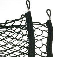 mitef Trunk Netz Dach Gepäck Net Barrier Net Storage Net Organizer Mesh H schwarz 110cm L x 40cm W -