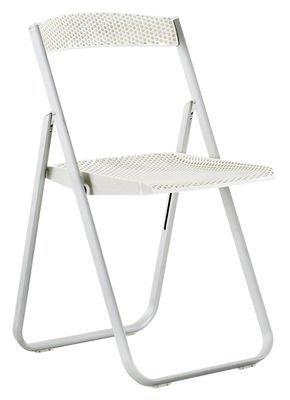 Kartell 4818E5 Chaise pliante Honeycomb (Blanc brillant)