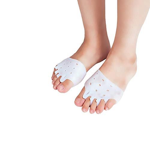 3 Paar Premium Mittelfußpolster für Herren und Damen Swiss Lab | Weiches Silikon-Gel-Fußballenpolster für Sportler, Morton-Neurom, High Heels, Bunions, Laufen & mehr Beruhige deine Füße sofort - High Heel Heels Laufen
