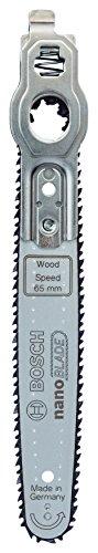 Bosch Sägeblatt Wood Speed 65 (mit NanoBlade Technologie für EasyCut 12, 50, AdvancedCut 18 und AdvancedCut 50)