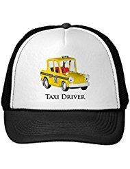 Funny Taxi Driver Trucker Hat - Cap Taxi Driver
