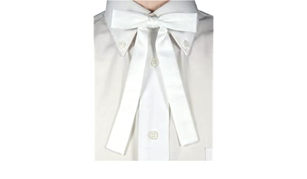 ebe6d705ebd3 Swagger & Swoon White Kentucky Colonel Bow Tie: Amazon.co.uk: Garden &  Outdoors