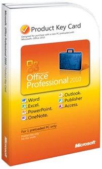 Microsoft Office Professional 2010 - Lizenz - 1 PC
