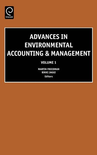 Advances in Environmental Accounting and Management: 1 (Advances in Environmental Accounting & Management)