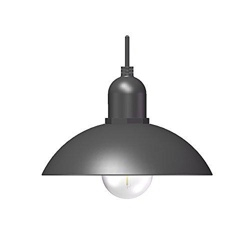 Yool lampadario a sospensione, lampadario da giardino a sospensione per esterni in ferro battuto a led per esterni,a