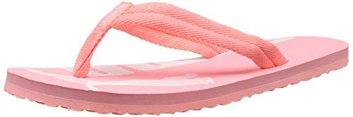 Puma Unisex-Erwachsene Epic Flip v2 Zehentrenner, Pink (Soft Fluo Peach White), 38 - Soft-flipflops
