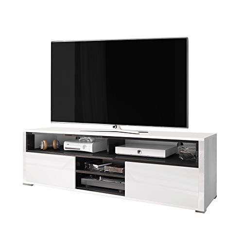 Selsey - Mueble para televisor (137 x 33 x 42,5 cm), Color Blanco ...