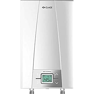 Calentador de agua instantáneo Clage CEX Elektronik MPS, compacto, controlado electrónicamente,