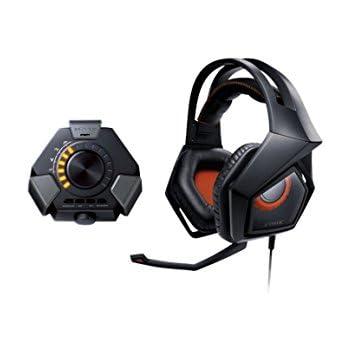 Asus Strix DSP 7.1 Canali Virtuali Cuffie Gaming, Audio Station USB, Microfono Removibile, Effetti Sonori 3D, Compatibilità PC/PS4/MAC