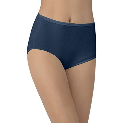Vanity Fair Damen Illumination Brief Panty 13109 Unterhose, Gravity, Medium - Slip Bikini Hanes