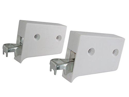 10 Paar Schrankaufhänger Schrankhalter Schrankhalterung Oberschrank Hängeschrank