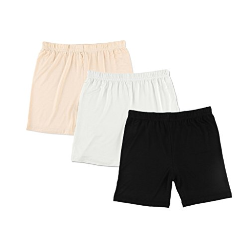 Liang Rou Damen Elasthan Kurz Leggings 3-Pack L (Für Frauen Size Sexy Höschen Plus)