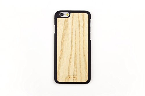 WoodWe Natural Wood Protective Handmade Case / Cover | For Iphone 7 / 8 | Authentic & Stylish | Ethically Sourced | BAMBOO Ash