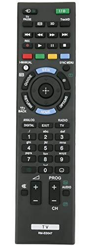 allimity RM-ED047 Remplacer la télécommande pour Sony Bravia TV KDL-32R300B KDL-22BX320 KDL-32BX320 KDL-46BX421 KDL-32BX321 KDL-32BX421 KDL-40BX420 KDL-40BX421 KDL-46BX420