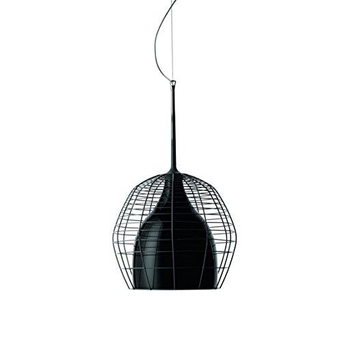 Diesel With Foscarini Cage Petit Lampe Suspendue Noire/Noire