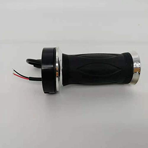 Universal-12v 24v 36v 48v schwarz Electric Scooter Bike Gasgriff