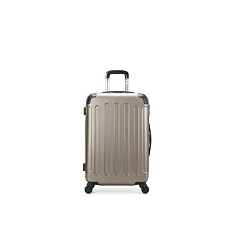 air-v BAGAGES, Valigia Beige champagne Large