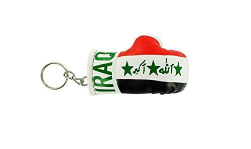 Schlüsselanhänger Irak Boxhandschuh Flagge Flag Jahrhundert Schlüssel Schlüssel Irakische Irak Irak (Boxhandschuhe Jahrhundert)
