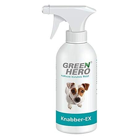 Green Hero Knabber-EX Erziehungsspray für Hund & Katze Verhindert Knabbern & Ankauen von Möbeln Schuhen u.v.m…
