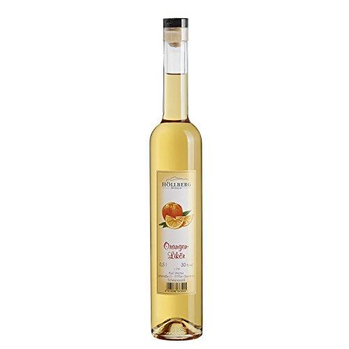 Original Höllberg Orangenlikör 30% vol. | Premium Orangen Likör aus der Privatbrennerei Höllberg | Schnaps & Liköre - Spezialitäten