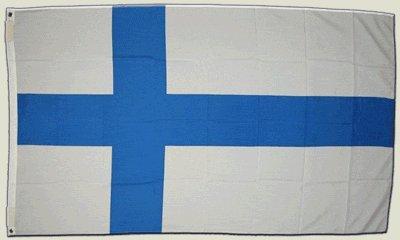 Flagge 150x90 cm Finnland