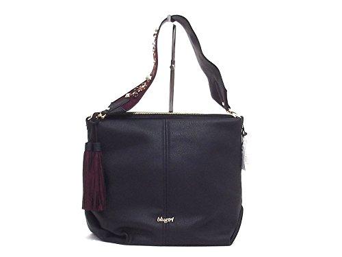 Blugirl donna, 830001, borsa a spalla, ecopelle nera A6102