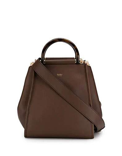 Max Mara Damen 45110291000018 Braun Leder Handtaschen