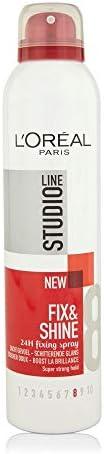 Loreal Studio Line Fix & Shine 8 24h Fixing Spray 2