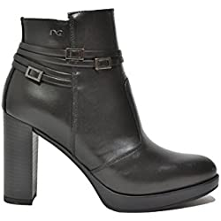 Nero Giardini Tronchetti scarpe donna nero 9143 A719143D