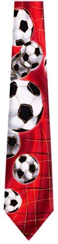 Jerry Garcia JG-7508 Designer Krawatte, Seide, Rot -
