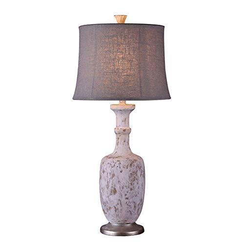JFHGNJ lámpara de mesa Lámpara de oxidación de imitación de ...