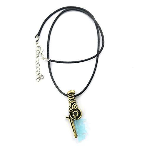 n Zelda, LINK Dolch Modellierung Anhänger Halskette, Hohe Qualität Symbol Mark Umgebende Halskette ()