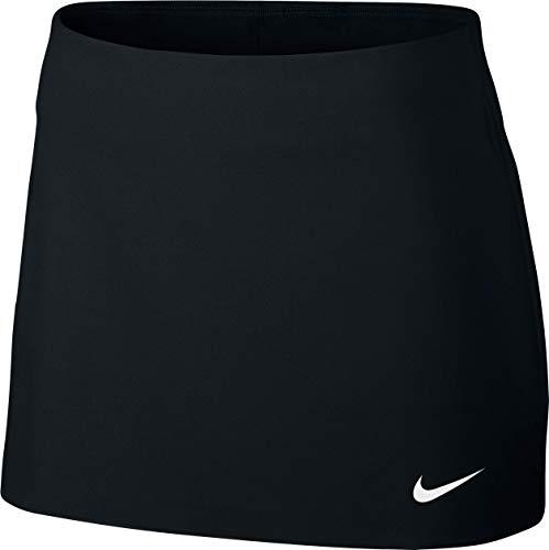 Nike Damen Court Power Spin Skirt Women Röcke, schwarz, XS