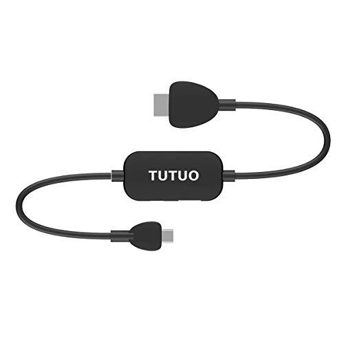 TUTUO für Nintendo Switch Dock, USB C zu HDMI Adapter mit HDMI Kabel, USB 3.0 und USB C PD ( Power Delivery ) Anschlüsse für MacBook Pro, Chromebook, Samsung Galaxy S8 S9 Plus, Huawei P20 Pro und mehr