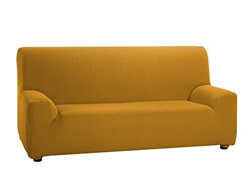 Martina Home Tunez - Copridivano Elasticizzato 1 Posto 1 Plaza (70-110 cm) Mostarda