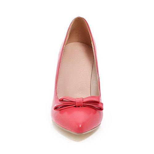 BalaMasa antiscivolo, da donna con tacco alto, materiale morbido pompe-Shoes RoseRed