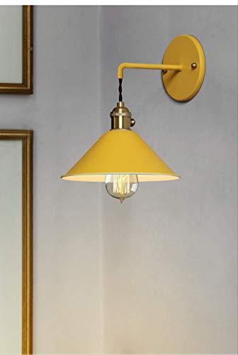 Vintage Designer kreative moderne Wohnzimmer Gang Schlafzimmer Kopf Farbe kleinen Regenschirm Wandleuchte keine Lichtquelle Orange